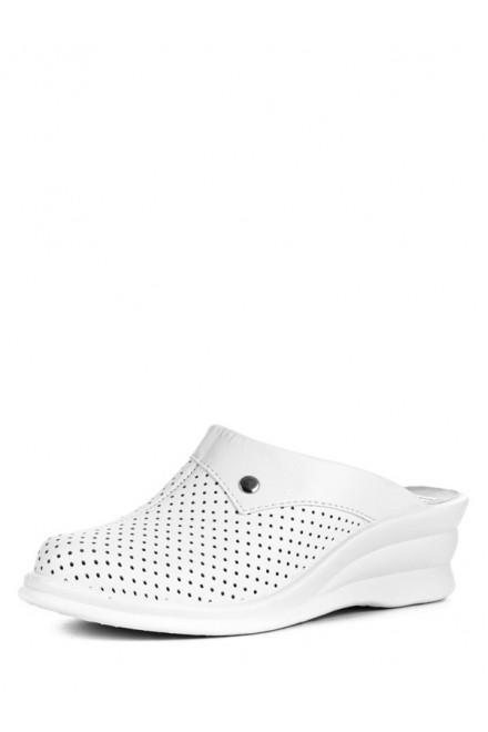 50-06 Обувь женская Сабо (цвет белый)