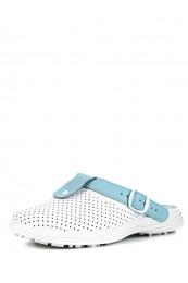 54-04А Обувь женская (отделка голубая)