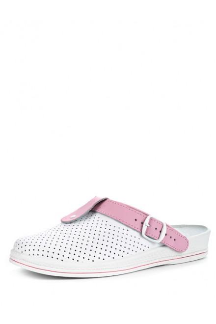74-04А Обувь женская (отделка розовая)