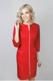 Халат женский   022 (красный)