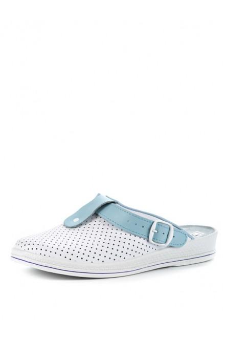 74-04А Обувь женская (отделка голубая)
