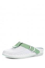 74-04А Обувь женская (отделка зелёная)