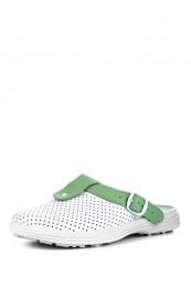 54-04А Обувь женская (отделка зелёная)