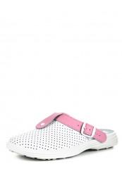 54-04А Обувь женская (отделка розовая)